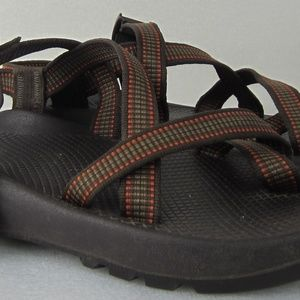 Chaco Vibram Sole Hiking Strap Sandal with Toe